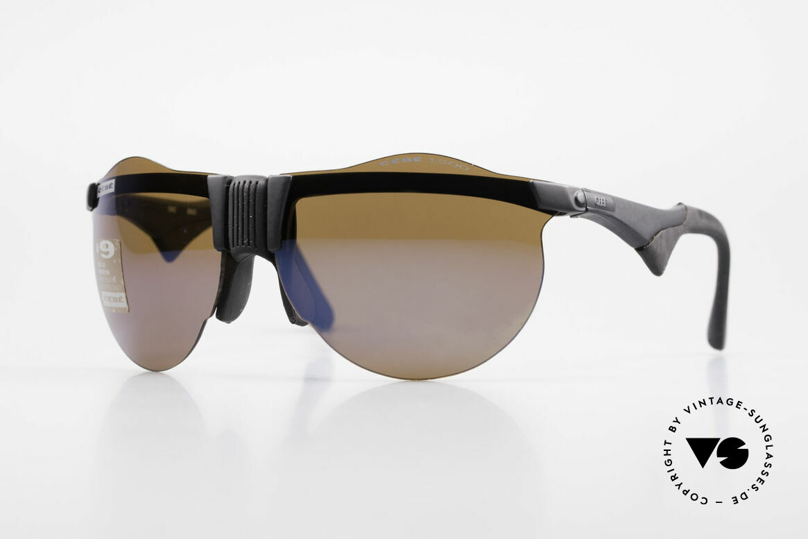 Cebe 1943 Rare Old Racing Sunglasses, vintage CEBE sports shades - made for extreme purpose, Made for Men and Women