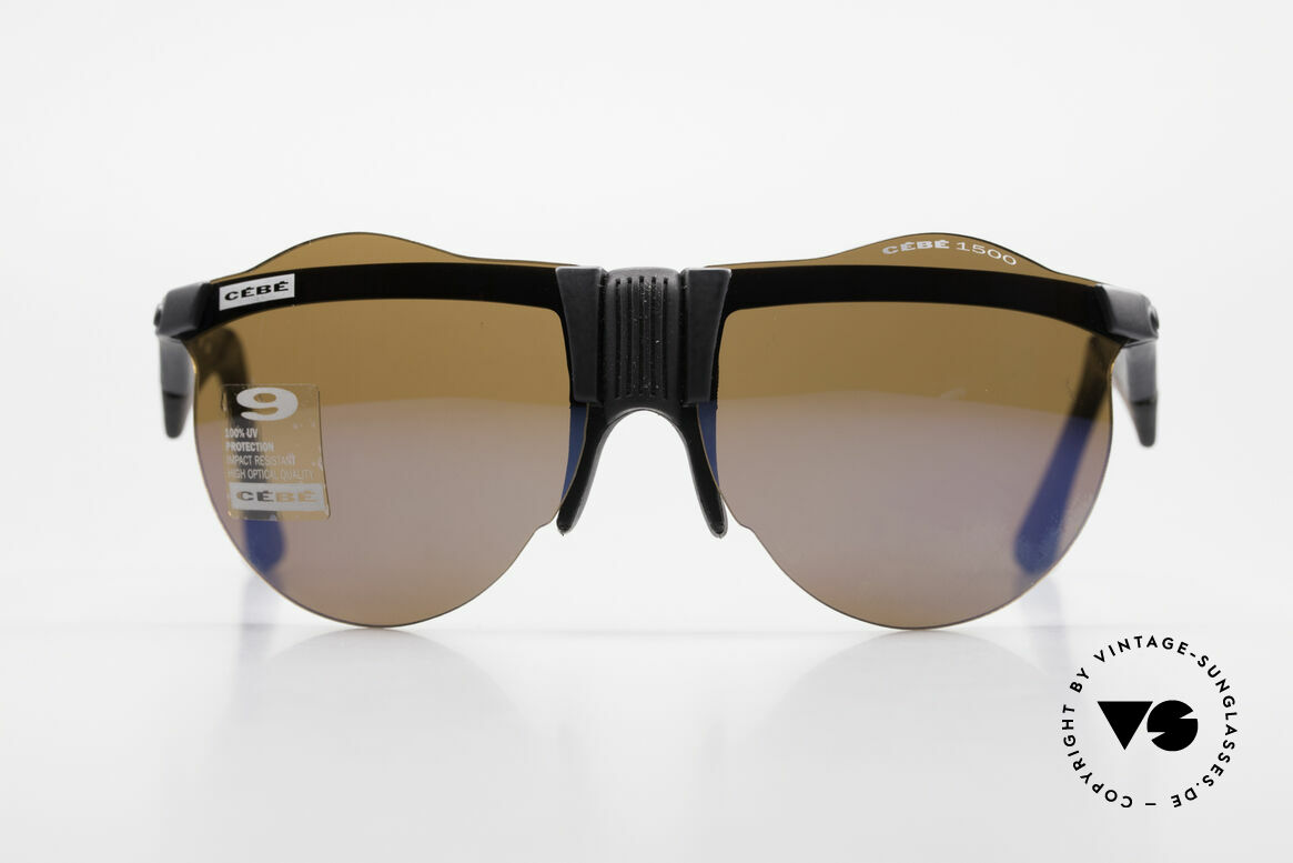 Cebe 1943 Rare Old Racing Sunglasses, engineered for the drivers of the PARIS-DAKAR-RALLYE, Made for Men and Women