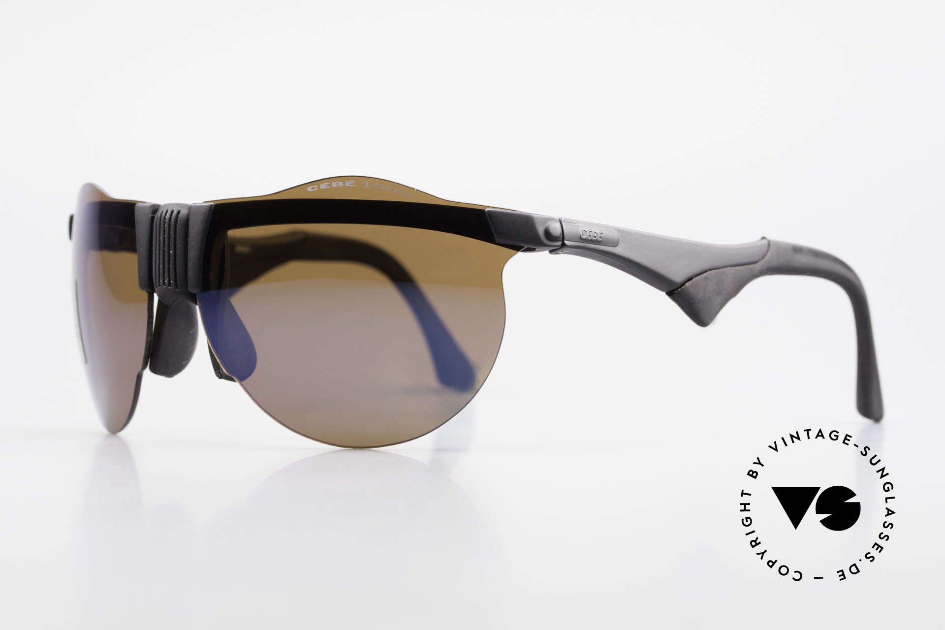 Cebe 1943 Rare Old Racing Sunglasses, ultra hard tested on the African tracks of PARIS-DAKAR, Made for Men and Women