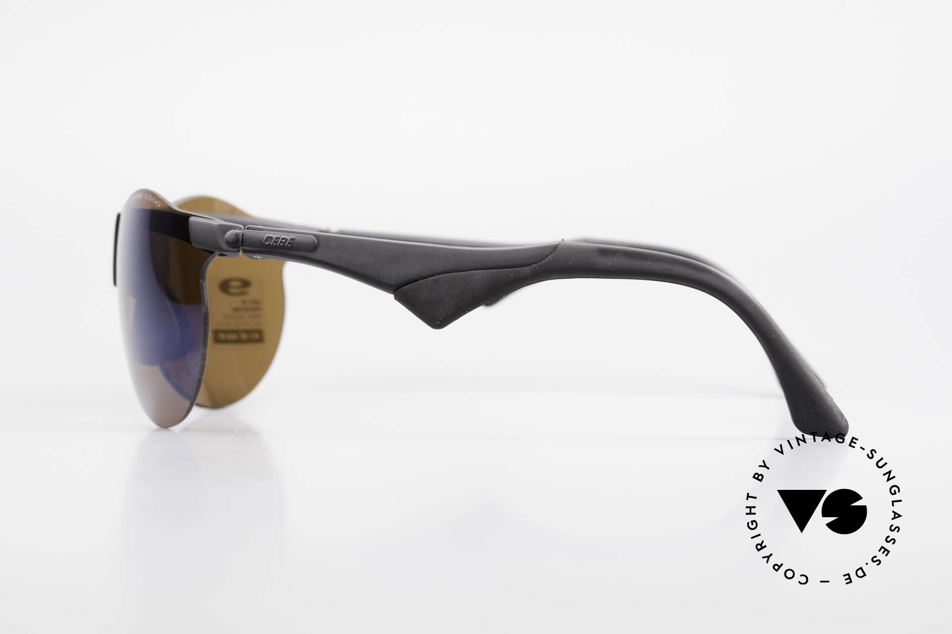 Cebe 1943 Rare Old Racing Sunglasses, with impact resistant sun lenses (high optical quality), Made for Men and Women