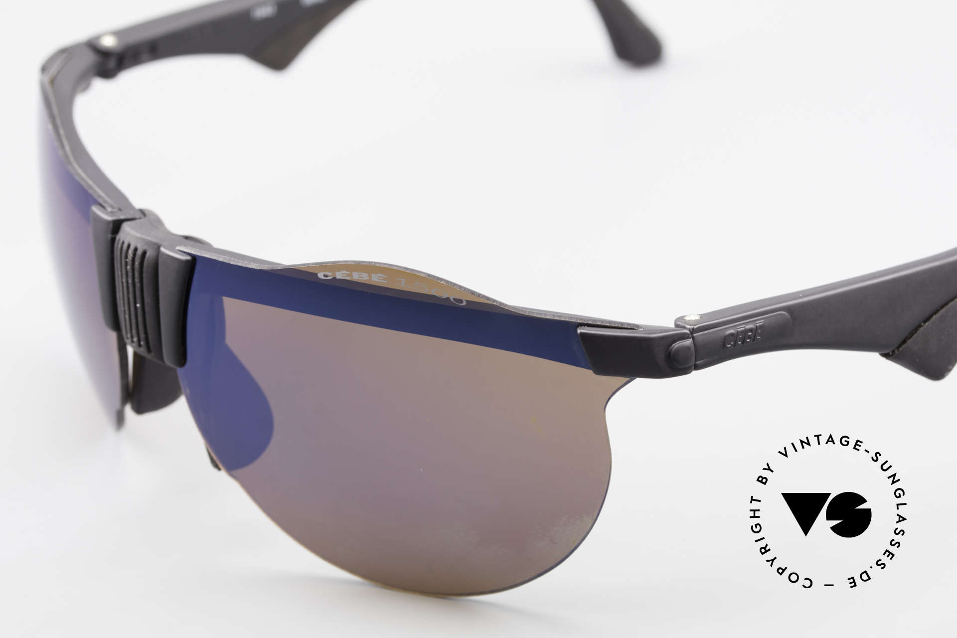 Cebe 1943 Rare Old Racing Sunglasses, never worn (like all our vintage CEBE sports sunglasses), Made for Men and Women