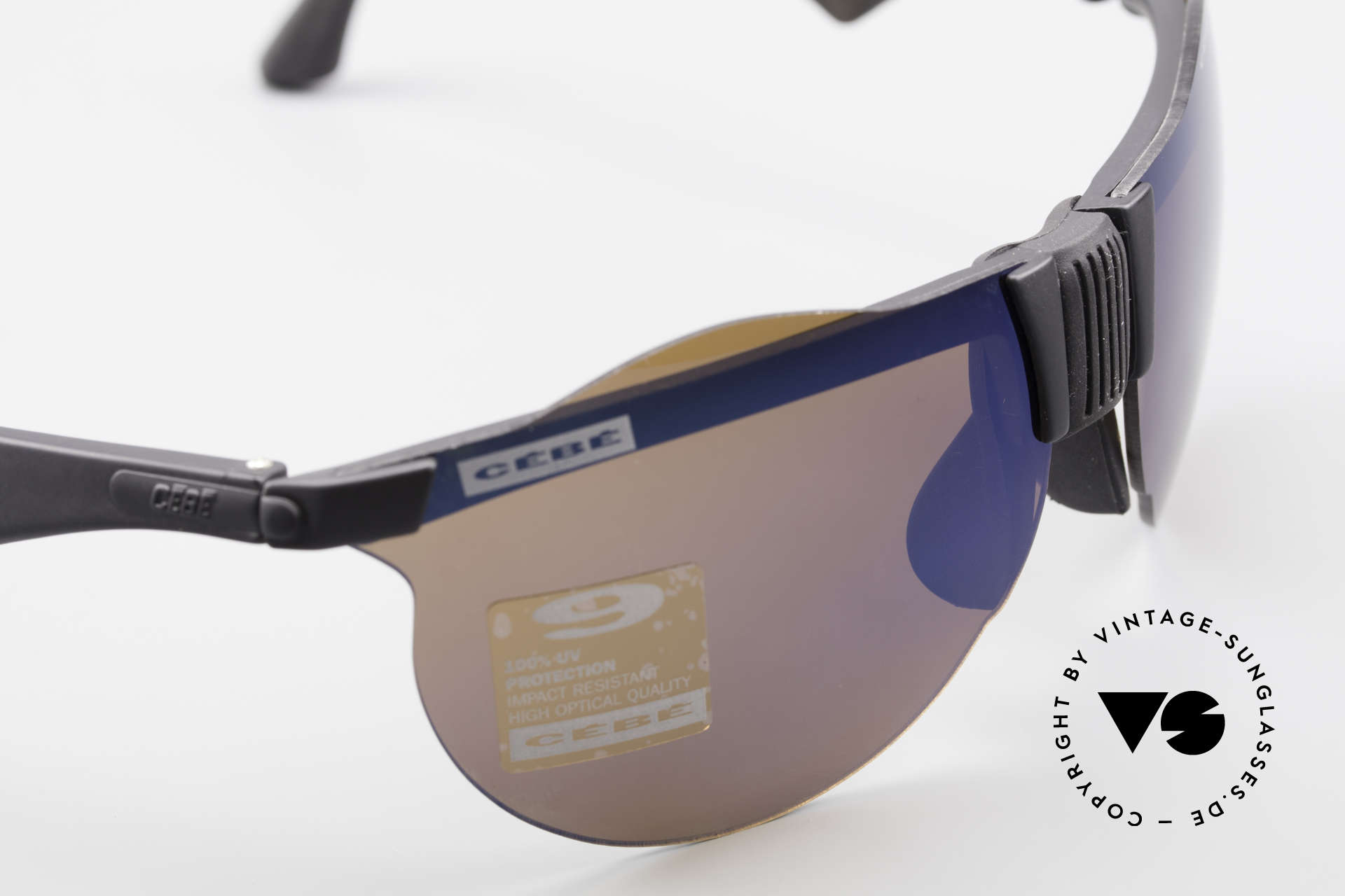 Cebe 1943 Rare Old Racing Sunglasses, NO RETRO SHADES; but an app. 25 years old ORIGINAL!, Made for Men and Women