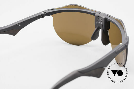 Cebe 1943 Rare Old Racing Sunglasses, worn and tested by Claude Brasseur and Thierry Sabine, Made for Men and Women