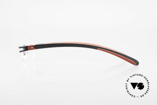 Bugatti 466 Luxury Rimless Glasses Carbon
