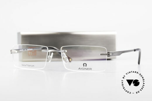 Aigner EA1023 Rimless Vintage Glasses Titan