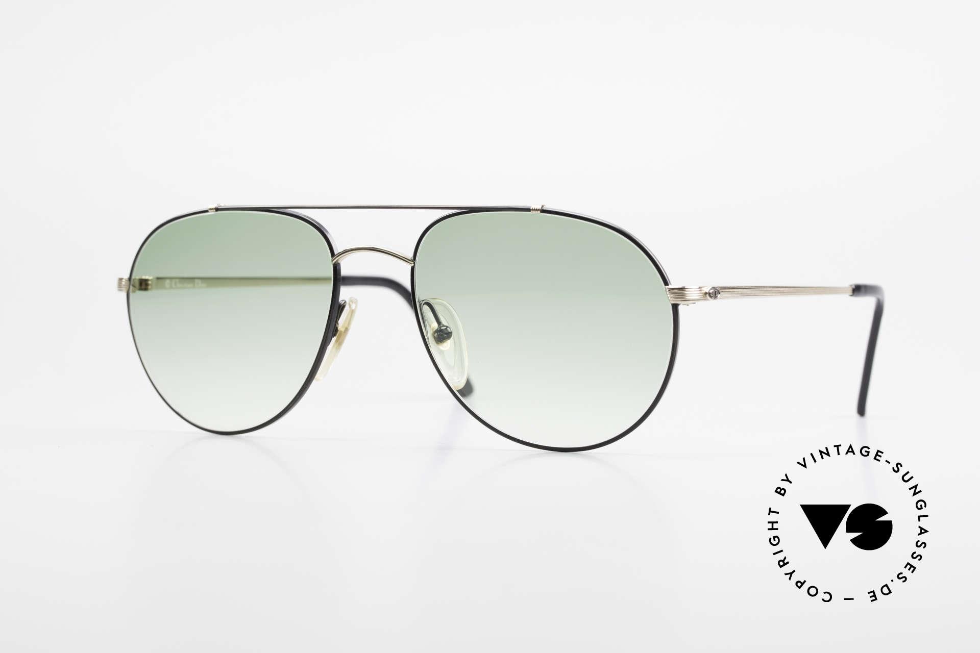 Christian Dior 2488 Rare 80's Aviator Sunglasses, rare 80's aviator sunglasses by Christian DIOR, Made for Men