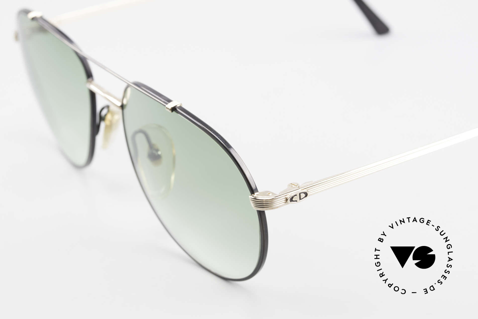 Christian Dior 2488 Rare 80's Aviator Sunglasses, never worn (like all our vintage Dior sunglasses), Made for Men
