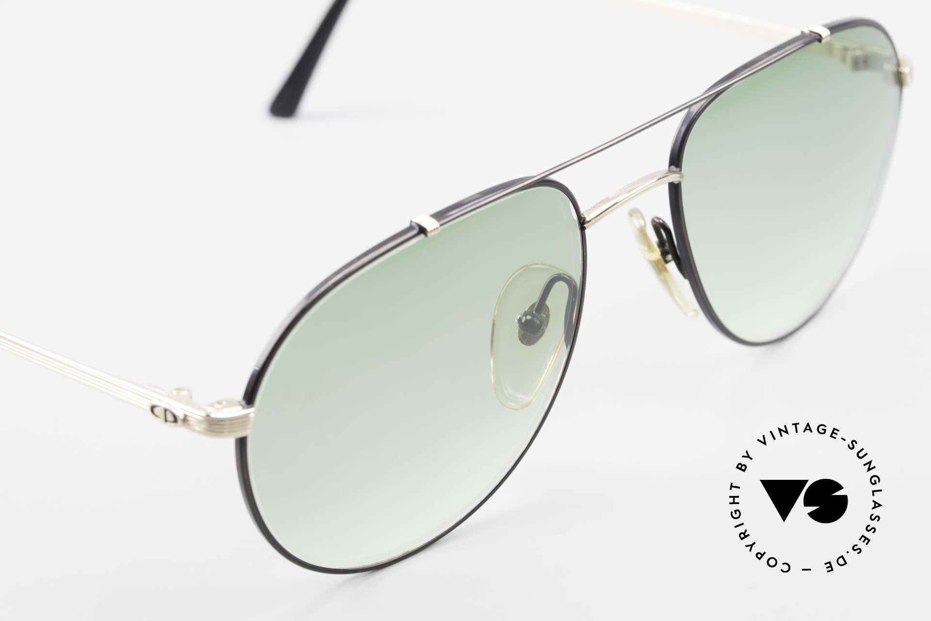 Christian Dior 2488 Rare 80's Aviator Sunglasses, NO RETRO shades, but an old original from 1987, Made for Men
