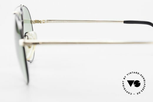 Christian Dior 2488 Rare 80's Aviator Sunglasses, sturdy metal frame is made for lenses of any kind, Made for Men