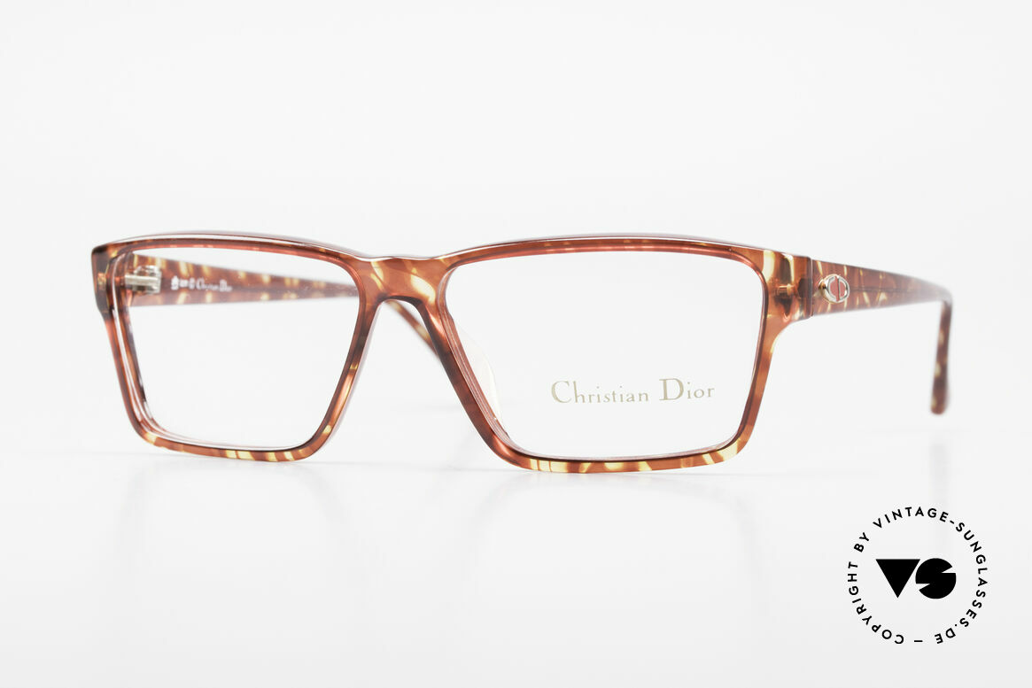 Christian Dior 2628 Old 80's Optyl Frame Unisex, striking Christian Dior eyeglass-frame from 1989, Made for Men and Women