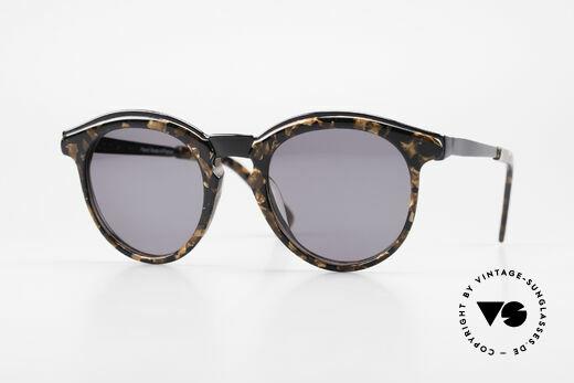 Alain Mikli 626 / 514 Rare Old 80's Panto Sunglasses Details