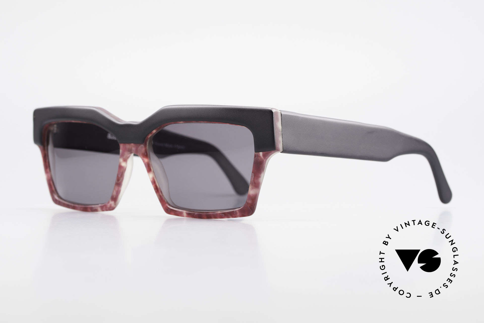 Alain Mikli 318 / 423 80's XL Designer Sunglasses, extravagant, but noble & sophisticated (typically A.M.), Made for Women