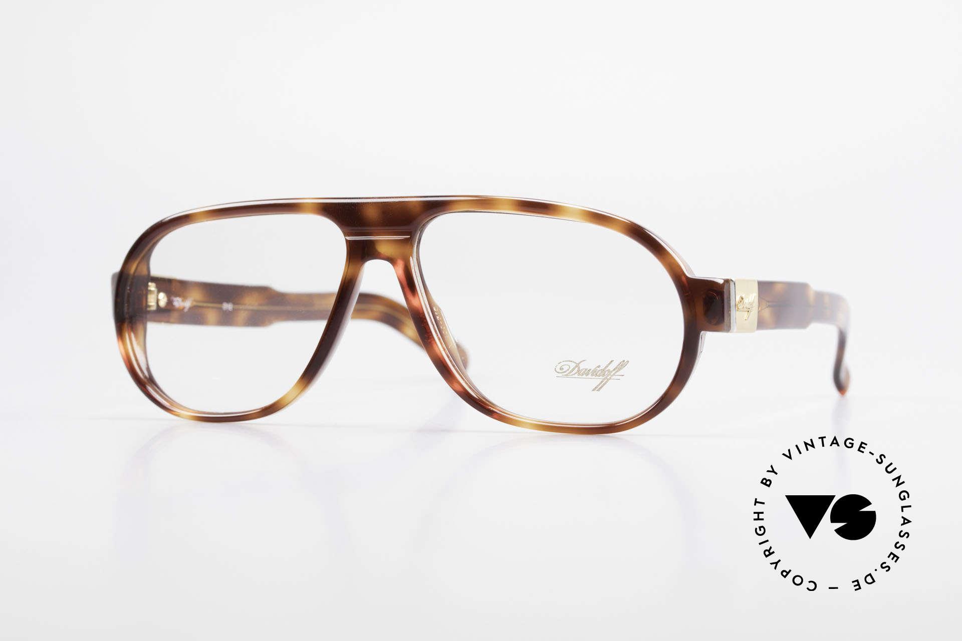 Davidoff 100 90's Men's Vintage Frame, rare and very NOBLE eyeglasses-frame by DAVIDOFF, Made for Men