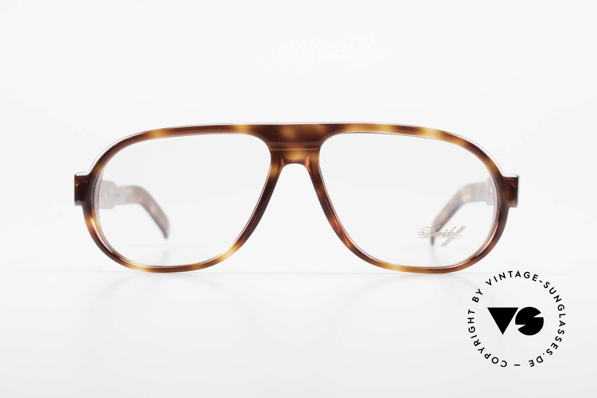Davidoff 100 90's Men's Vintage Frame, precious 90's original with timeless tortoise pattern, Made for Men