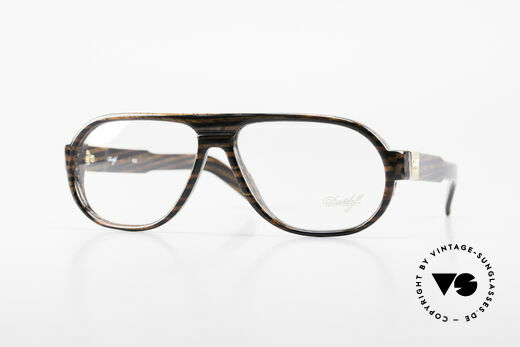 Davidoff 100 90's Men's Vintage Glasses Details