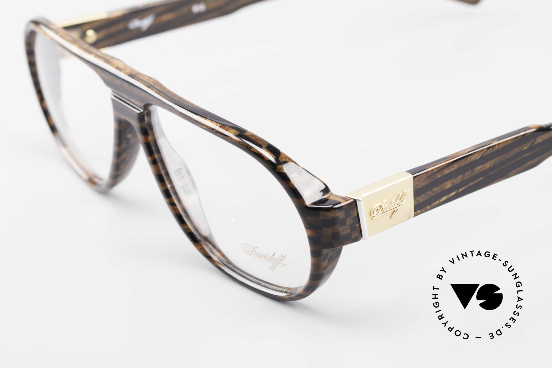 Davidoff 100 90's Men's Vintage Glasses, vintage model for fashion enthusiasts; simply stylish, Made for Men