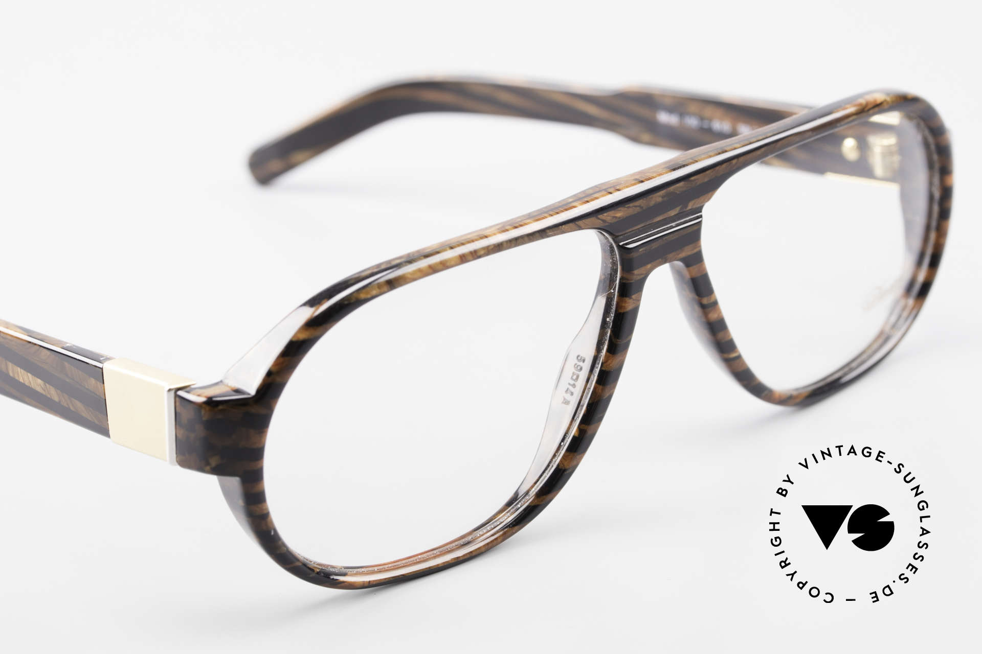 Davidoff 100 90's Men's Vintage Glasses, unworn (like all our Davidoff eyeglasses from the 90s), Made for Men