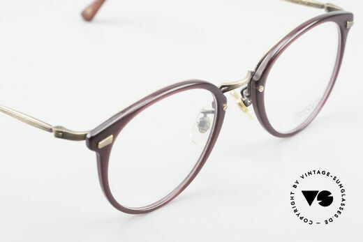 Matsuda 2836 Panto Style 90's Eyeglass-Frame, NO RETRO eyeglasses, but a 25 years old ORIGINAL!, Made for Men and Women