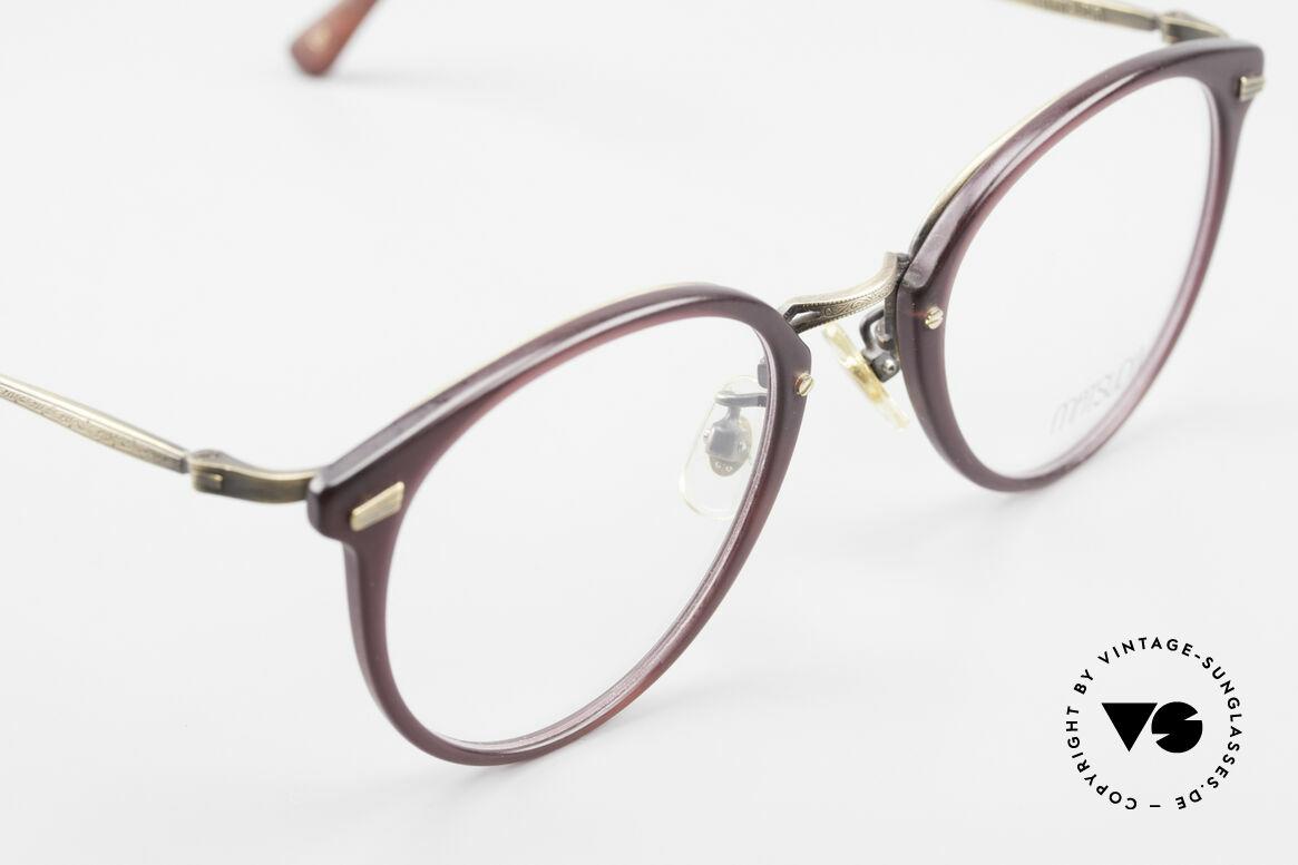 Matsuda 2836 Panto Style 90's Eyeglass-Frame
