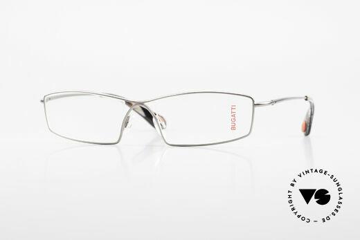 Bugatti 201 Odotype Luxury Designer Eyeglasses Details