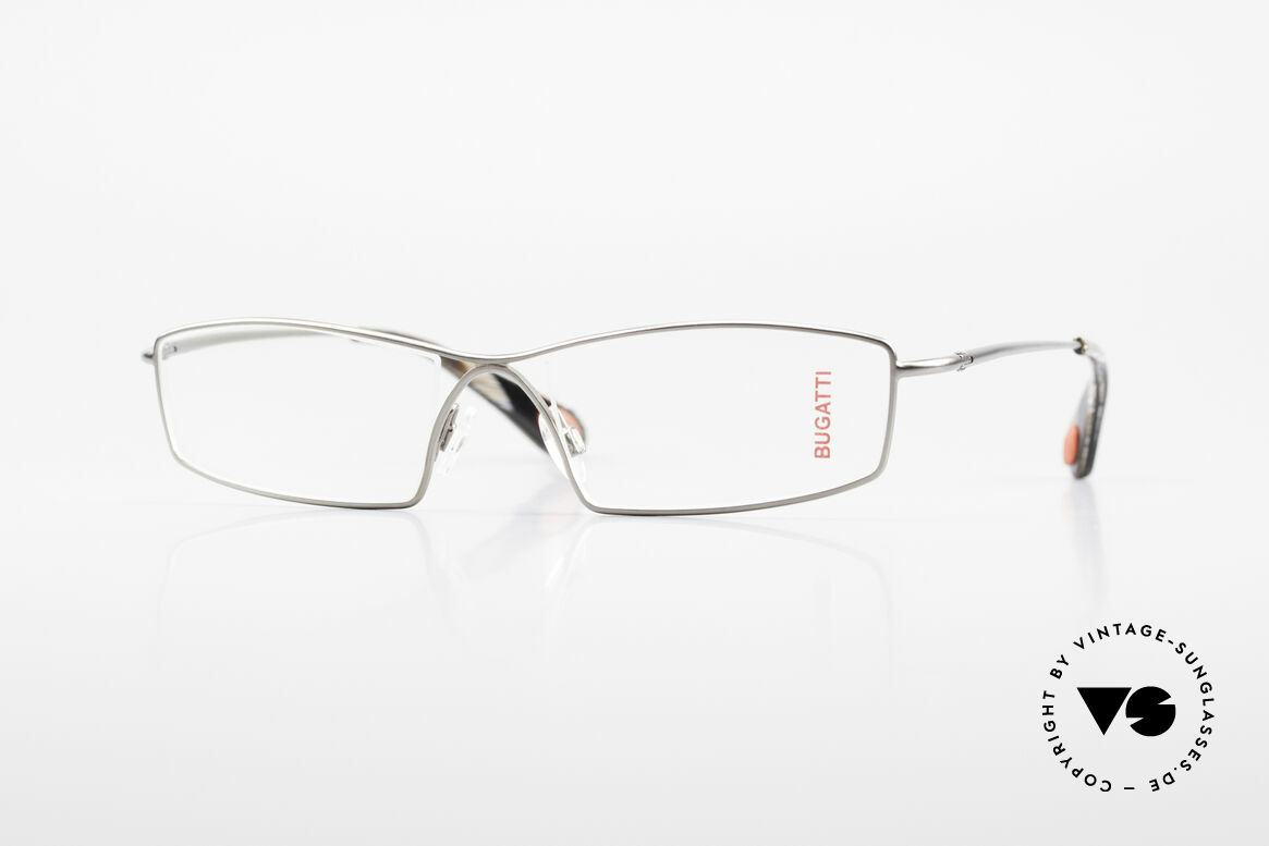 Bugatti 201 Odotype Luxury Designer Eyeglasses, legendary Odotype series for Bugatti fanciers, Made for Men