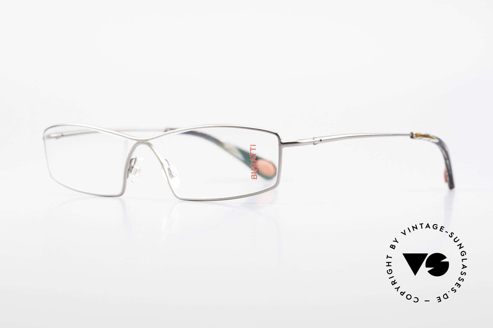 Bugatti 201 Odotype Luxury Designer Eyeglasses, high-tech frame & brilliant lens construction, Made for Men