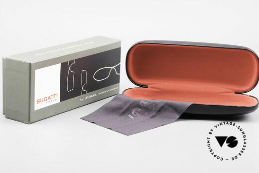 Bugatti 201 Odotype Luxury Designer Eyeglasses, Size: large, Made for Men