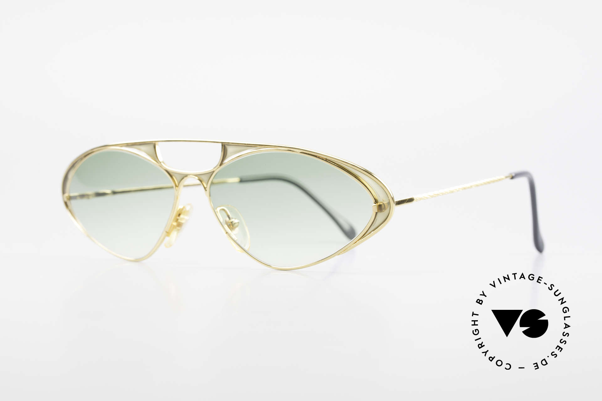 Casanova LC8 Murano Glass Luxury Shades, GOLD-PLATED frame with famous glass from MURANO, Made for Women