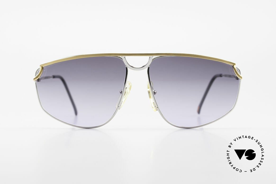 Casanova DSC9 Rare Aviator Style Sunglasses, titanium frame with gold-plated bridge and temples, Made for Men and Women