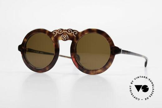 Laura Biagiotti V93 Shangai True Vintage 70's Sunglasses Details
