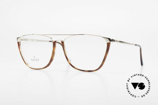 Gucci 1308 90's Designer Eyeglass-Frame Details