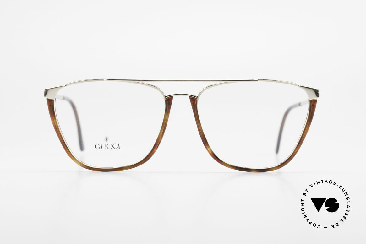 Gucci 1308 90's Designer Eyeglass-Frame, really rare designer piece of the early 90's, Made for Men and Women