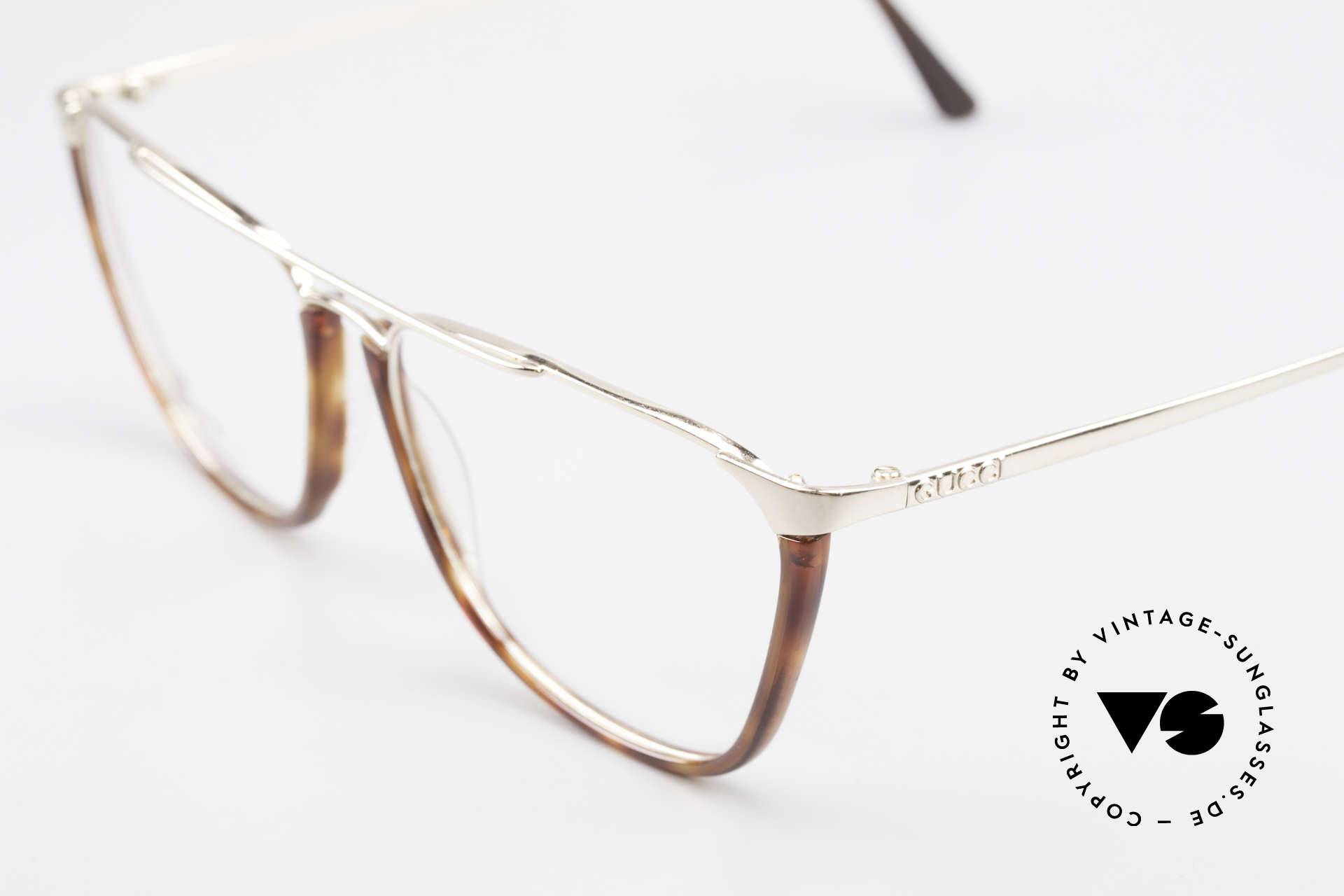 Gucci 1308 90's Designer Eyeglass-Frame, high-end quality & 1. class wearing comfort, Made for Men and Women