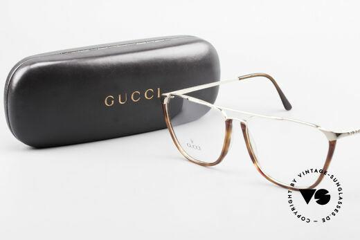 Gucci 1308 90's Designer Eyeglass-Frame, NO retro eyeglasses; an old Gucci ORIGINAL, Made for Men and Women