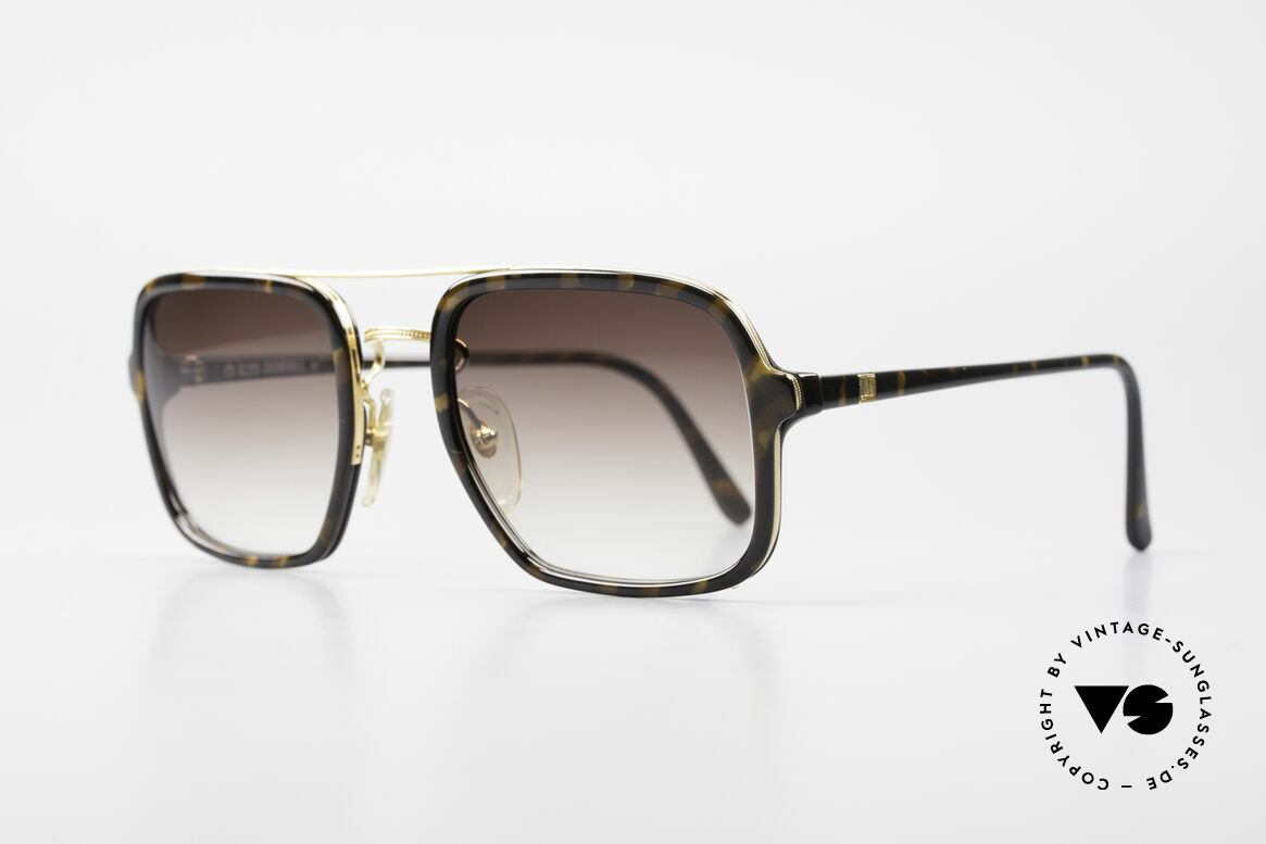 Dunhill 6059 80's Vintage Men's Sunglasses, valuable Optyl-material for a timeless quality; durable!, Made for Men
