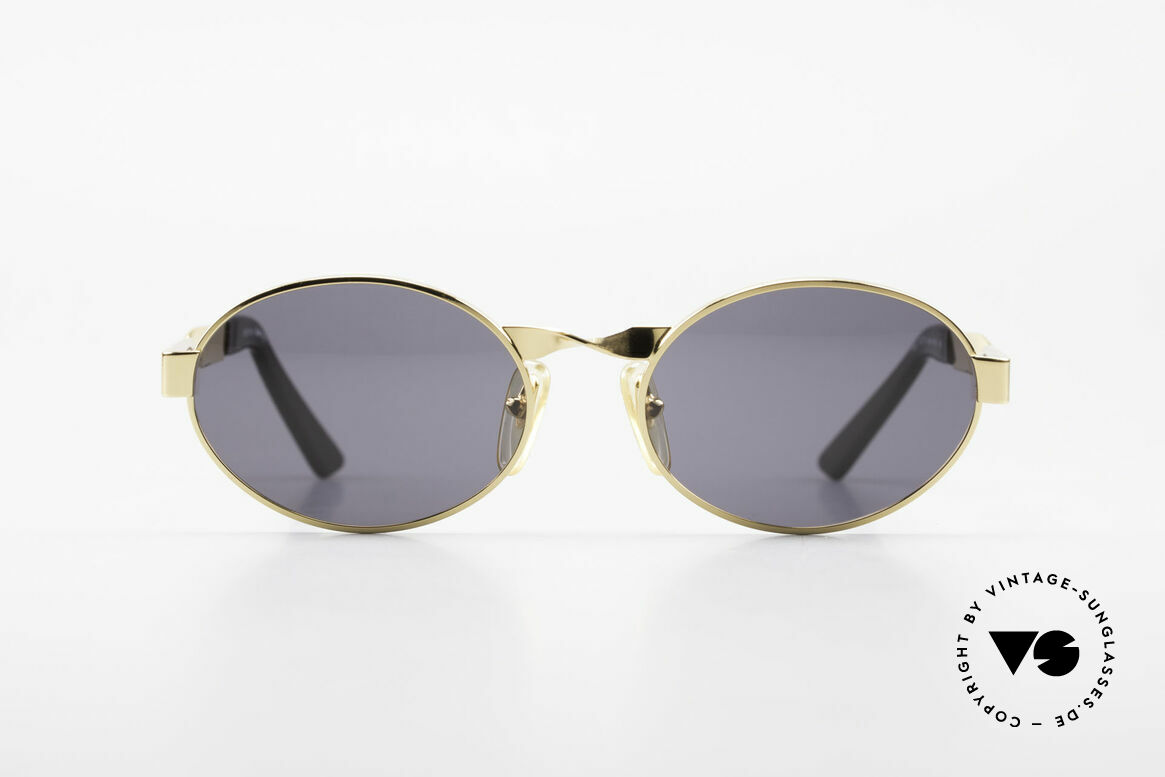 Moschino M29 Twisted Oval Sunglasses Rare, glamorous Moschino by Persol vintage sunglasses, Made for Women