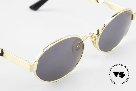 Moschino M29 Twisted Oval Sunglasses Rare