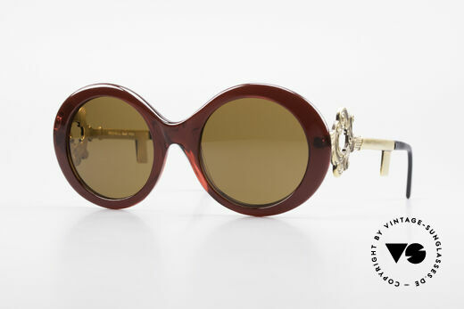 Moschino M254 Antique Key Sunglasses Rare Details