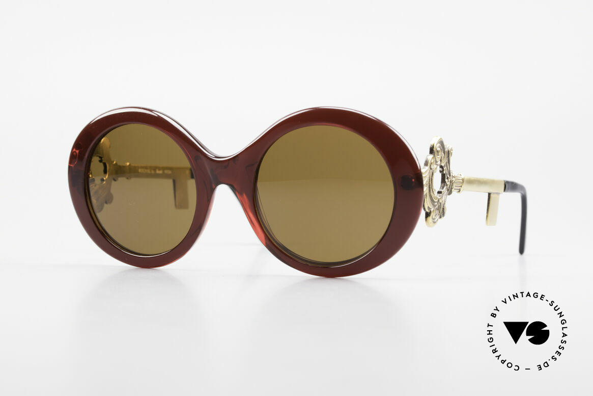 Moschino M254 Antique Key Sunglasses Rare, extraordinary MOSCHINO by Persol vintage shades, Made for Women