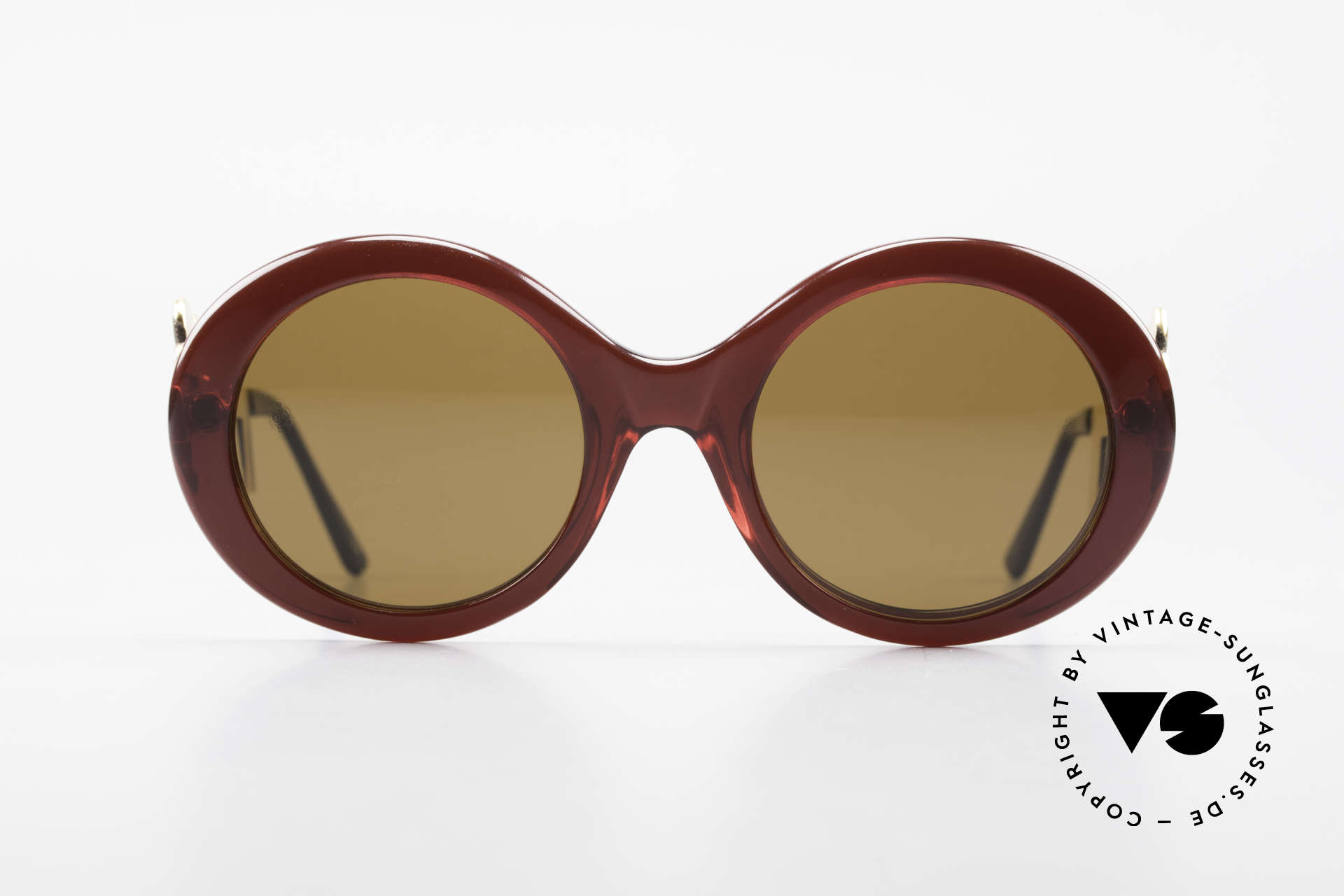 Moschino M254 Antique Key Sunglasses Rare, Persol produced the Moschino creations in the 80s, Made for Women