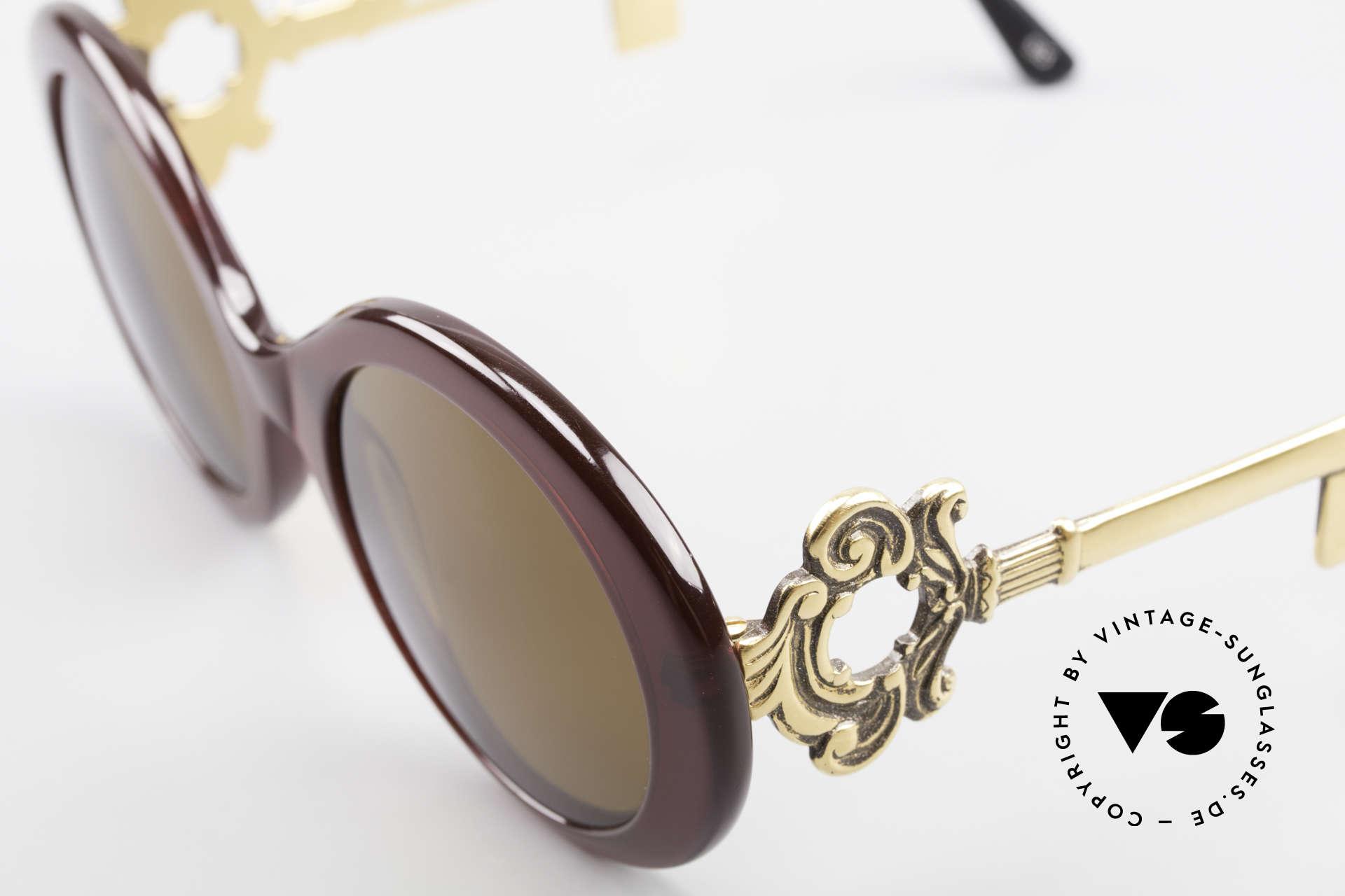 Moschino M254 Antique Key Sunglasses Rare, never worn (like all our Moschino designer frames), Made for Women