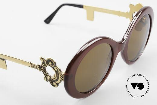 Moschino M254 Antique Key Sunglasses Rare, NO retro fashion, but a 35 years old unique rarity!, Made for Women