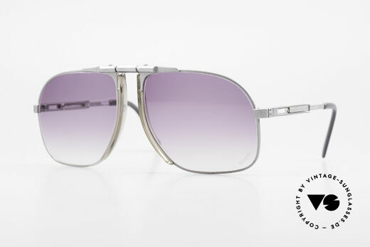 Willy Bogner 7023 Adjustable Sunglasses 80's Details