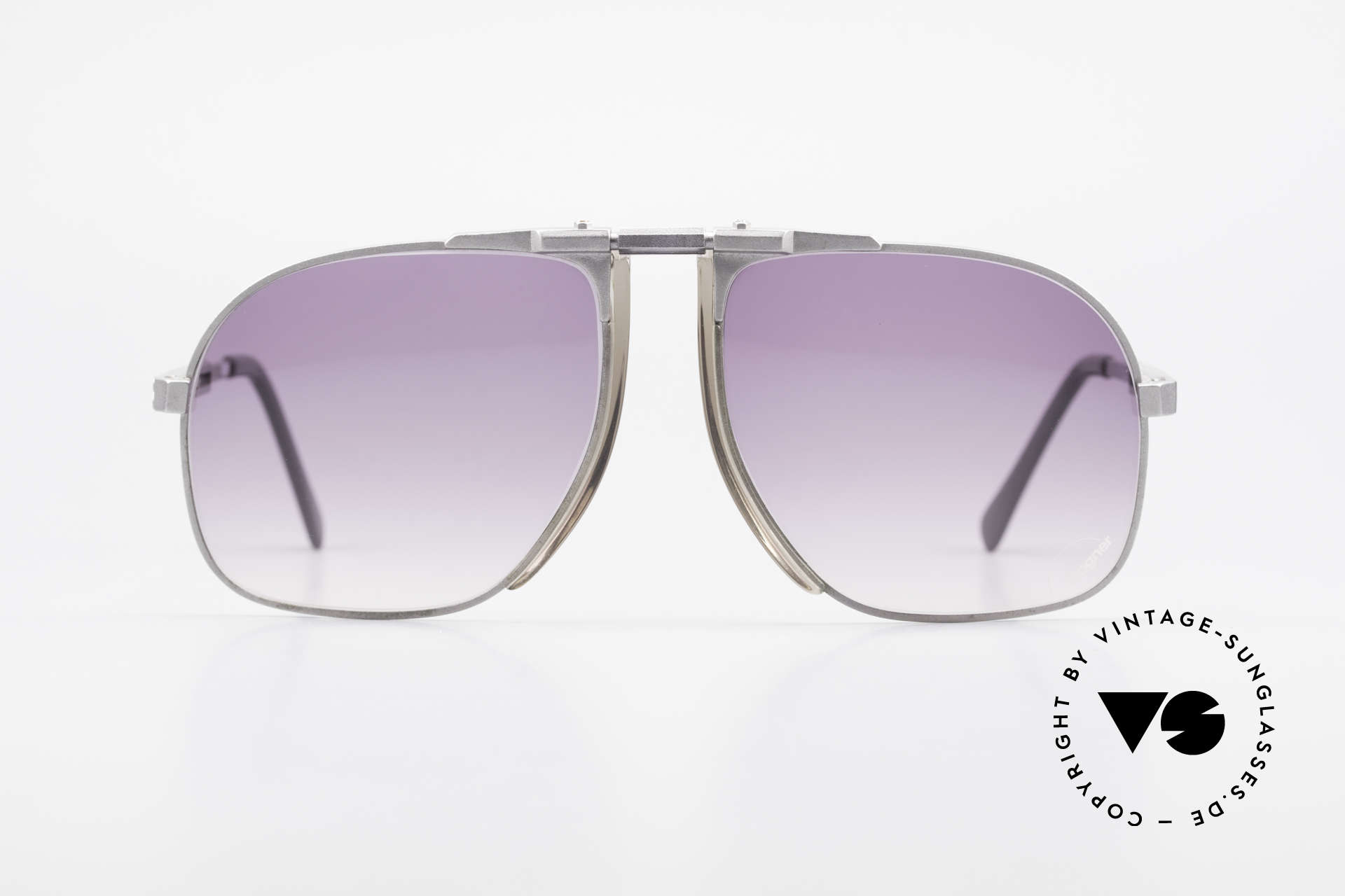 Willy Bogner 7023 Adjustable Sunglasses 80's, steplessely variable temples by Eschenbach; practical, Made for Men