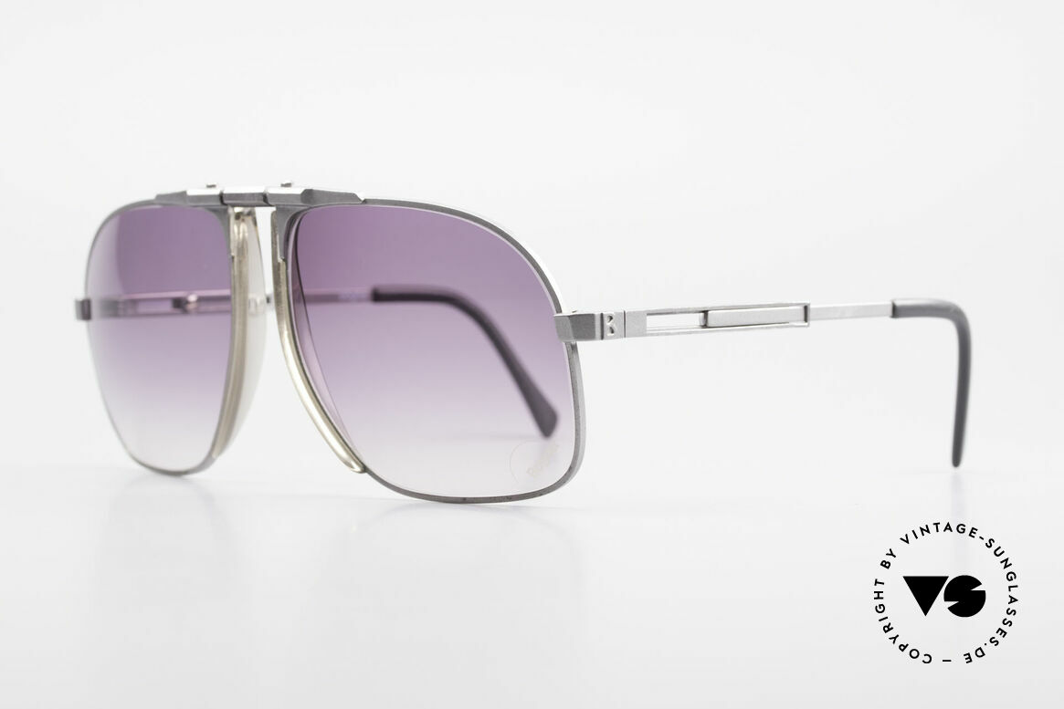 Willy Bogner 7023 Adjustable Sunglasses 80's, finest quality (100% UV) from Austria from app. 1982, Made for Men