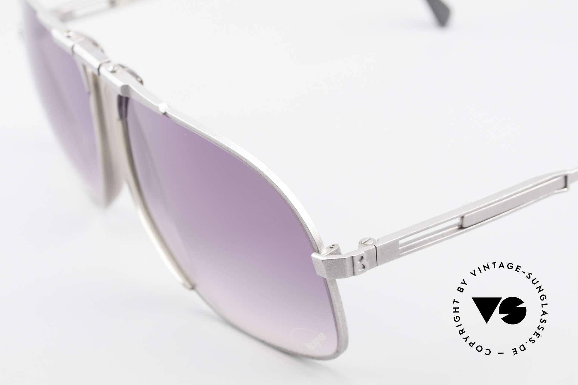 Willy Bogner 7023 Adjustable Sunglasses 80's, 7023 = similar to the James Bond Bogner shades '7003', Made for Men