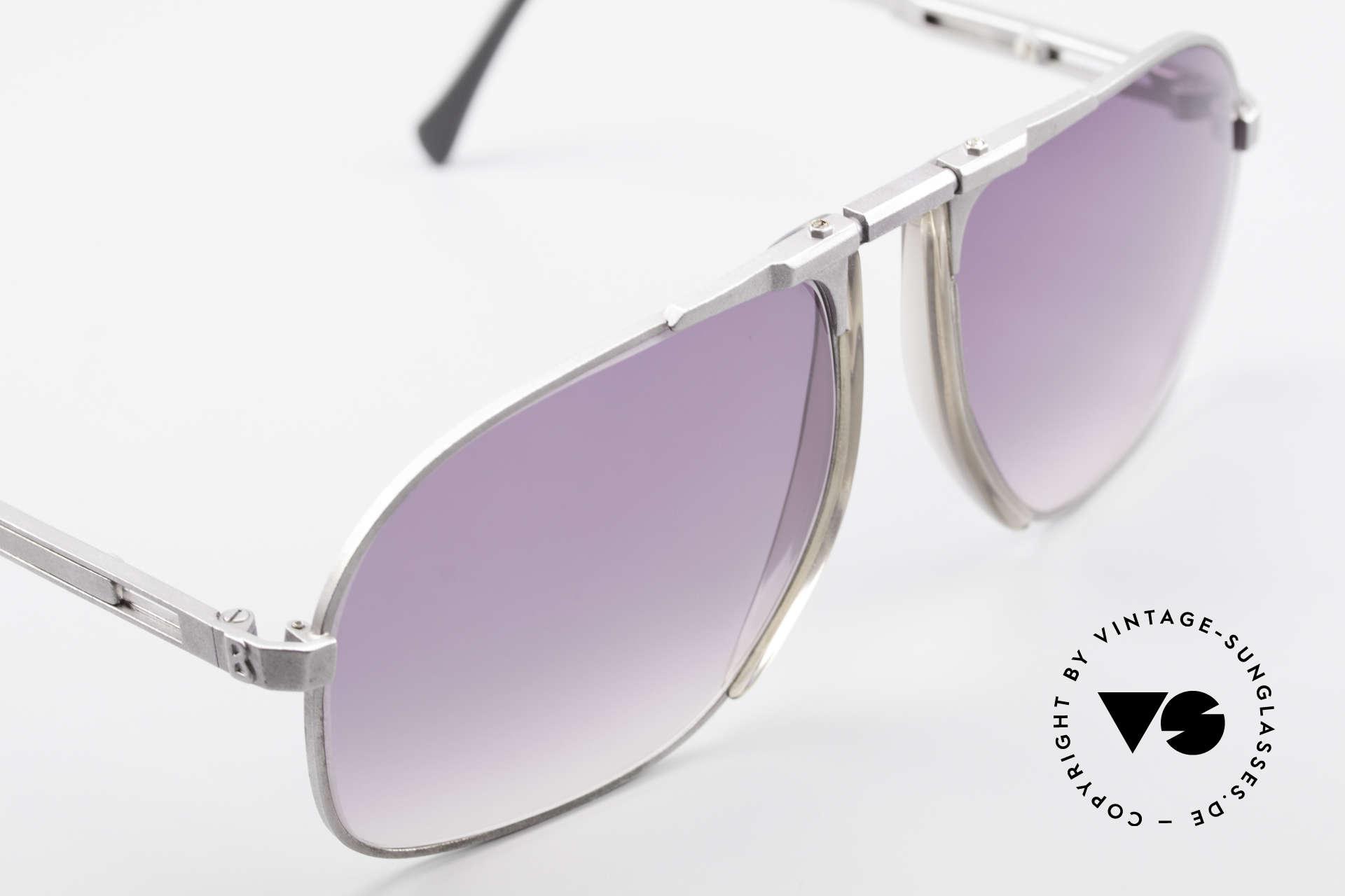 Willy Bogner 7023 Adjustable Sunglasses 80's, unworn (like all our vintage sunglasses by W. BOGNER), Made for Men