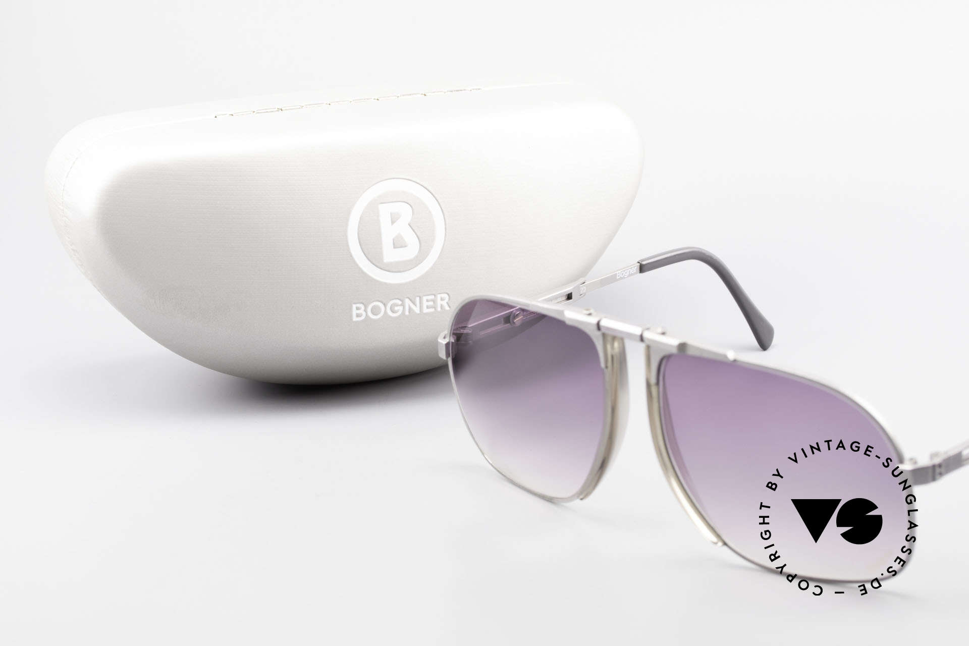 Willy Bogner 7023 Adjustable Sunglasses 80's, Size: large, Made for Men