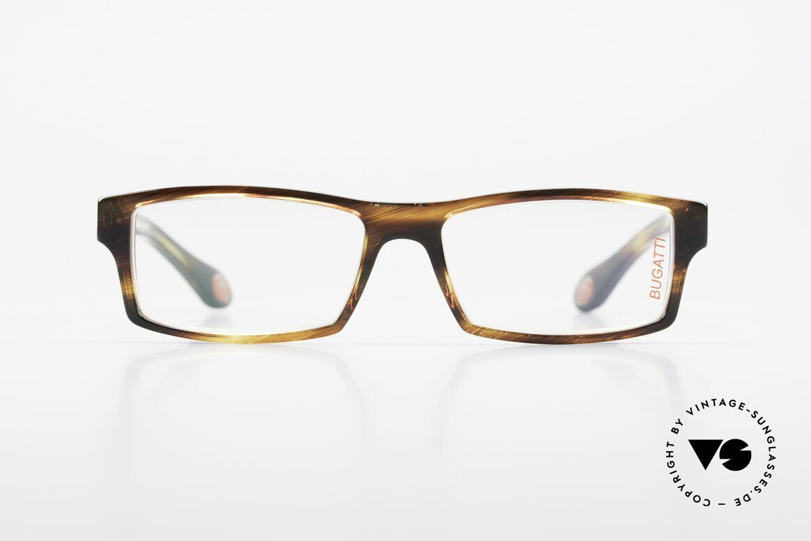 Bugatti 486 Square Luxury Men's Glasses, TOP-NOTCH QUALITY of all frame components, Made for Men