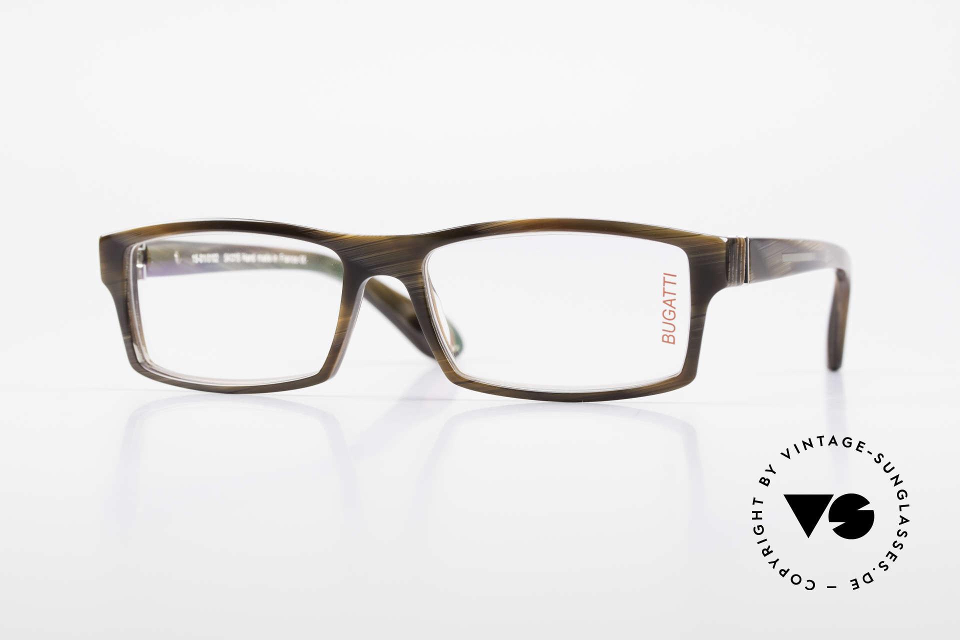 Bugatti 486 Striking Luxury Men's Glasses, striking high-tech eyeglass-frame by BUGATTI, Made for Men